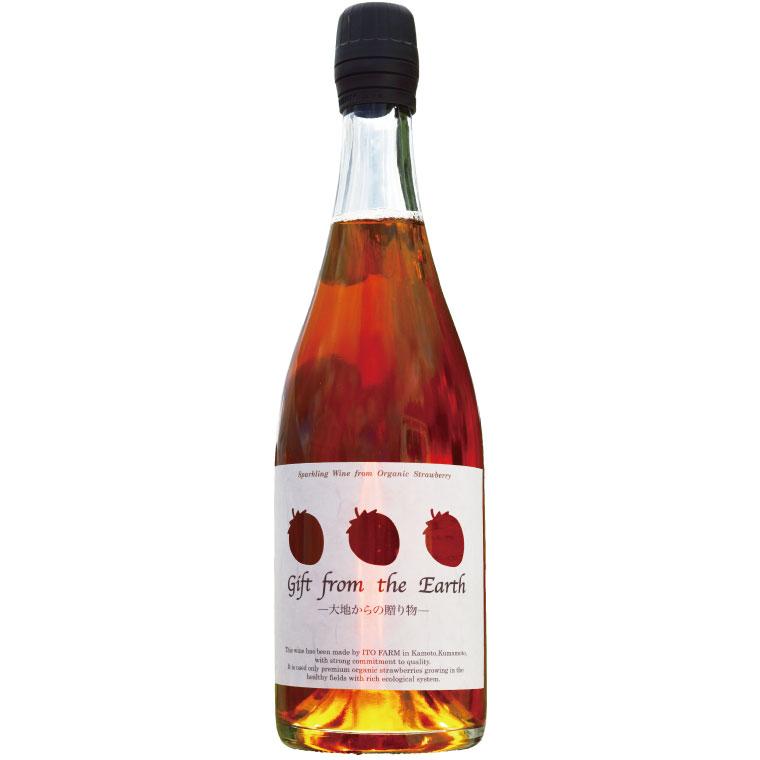 いちごのスパークリングワイン